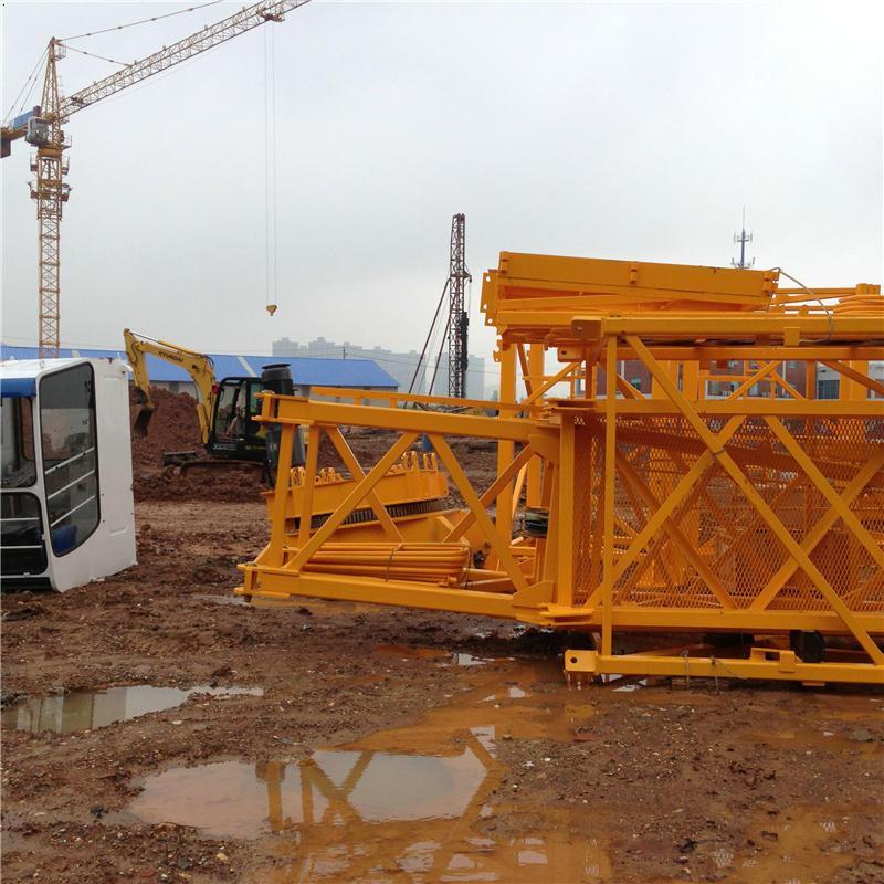 大桥安置小区新塔机进场安装长沙塔吊租赁