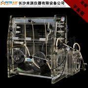 有机玻璃真空手套箱  无菌设备 亚克力操作箱 真空手套箱