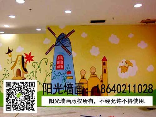 【幼儿园外墙装饰图片】