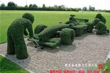 绿植雕塑|景观雕塑|