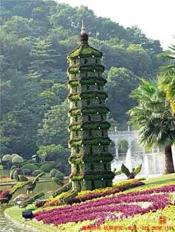 绿植雕塑|雕塑设计|园