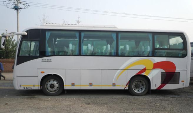 收购大型二手客车-高