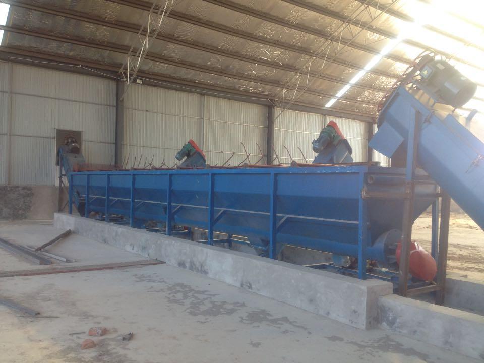 塑料洗料池生产线