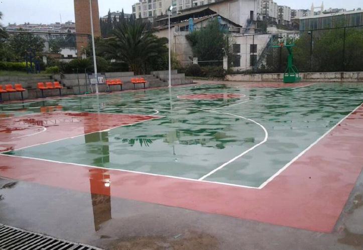 湖北篮球场建设。武汉户外健身器材。场地建设