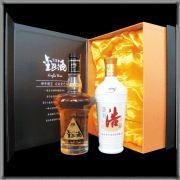 天浩金巴露酒浩酒礼盒 (尊贵佳品)  500ml+500ml