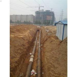 球墨铸铁管施工工程案例|郑州球墨铸铁管施工情景