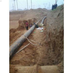 球墨鑄鐵管施工工程案例|鄭州球墨鑄鐵管施工情景