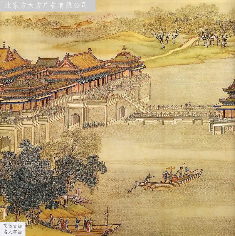 中国十大传世古画图片