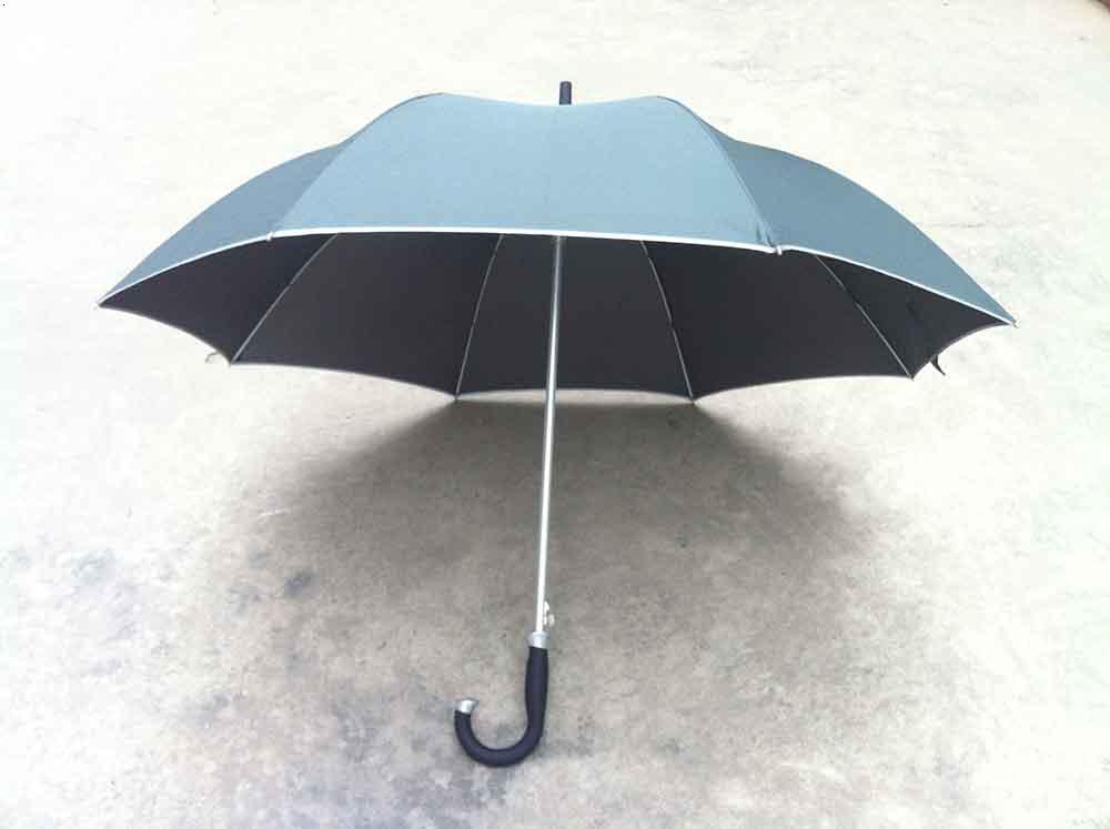 昆明广告伞-弯柄伞