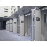 长沙工业折叠门|长沙工业折叠门图片|工业电动折叠门厂家|联鑫驰泰折叠门