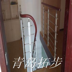 青岛钢木楼梯-6