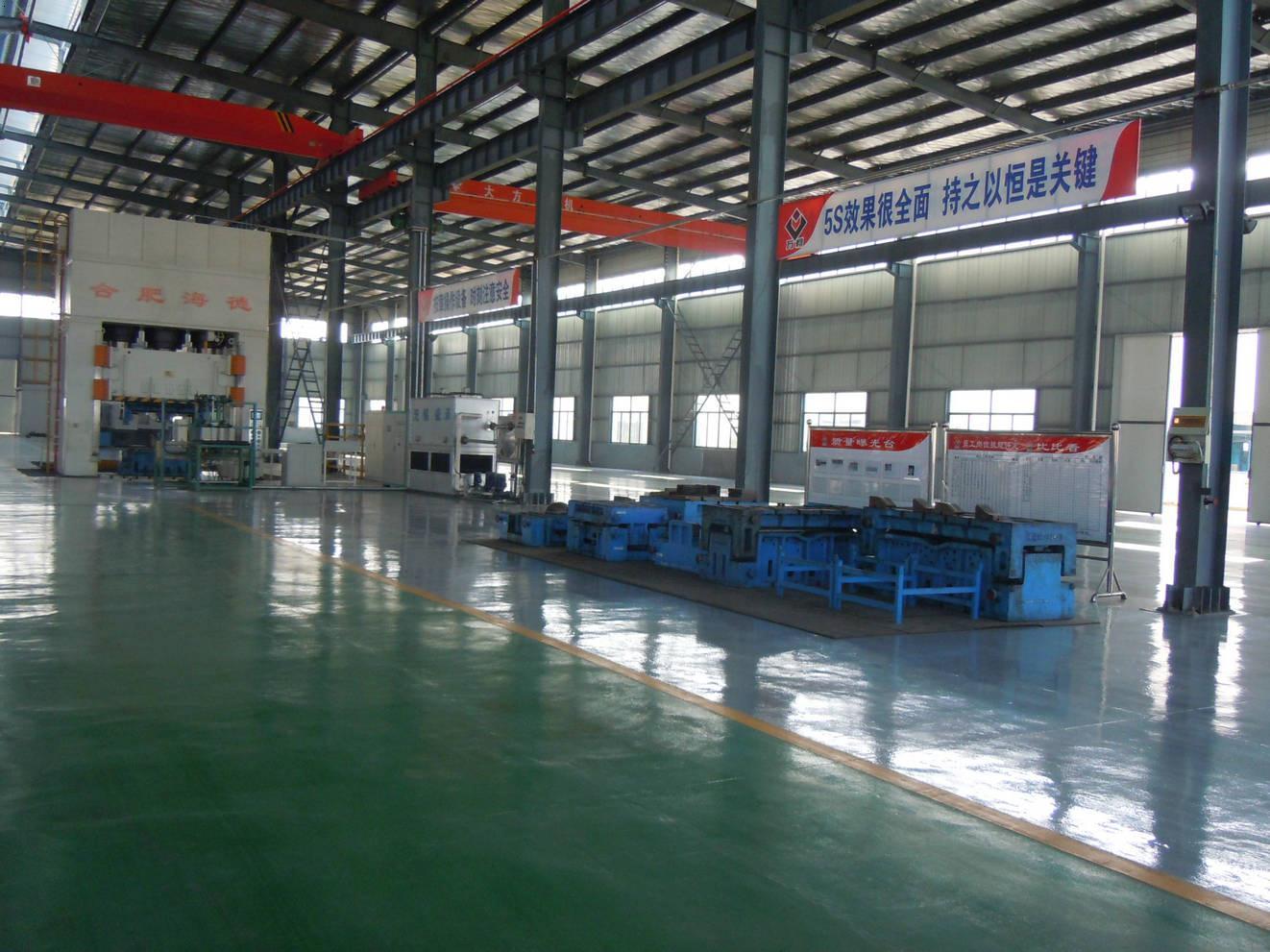 郑州致同汽配厂区设备