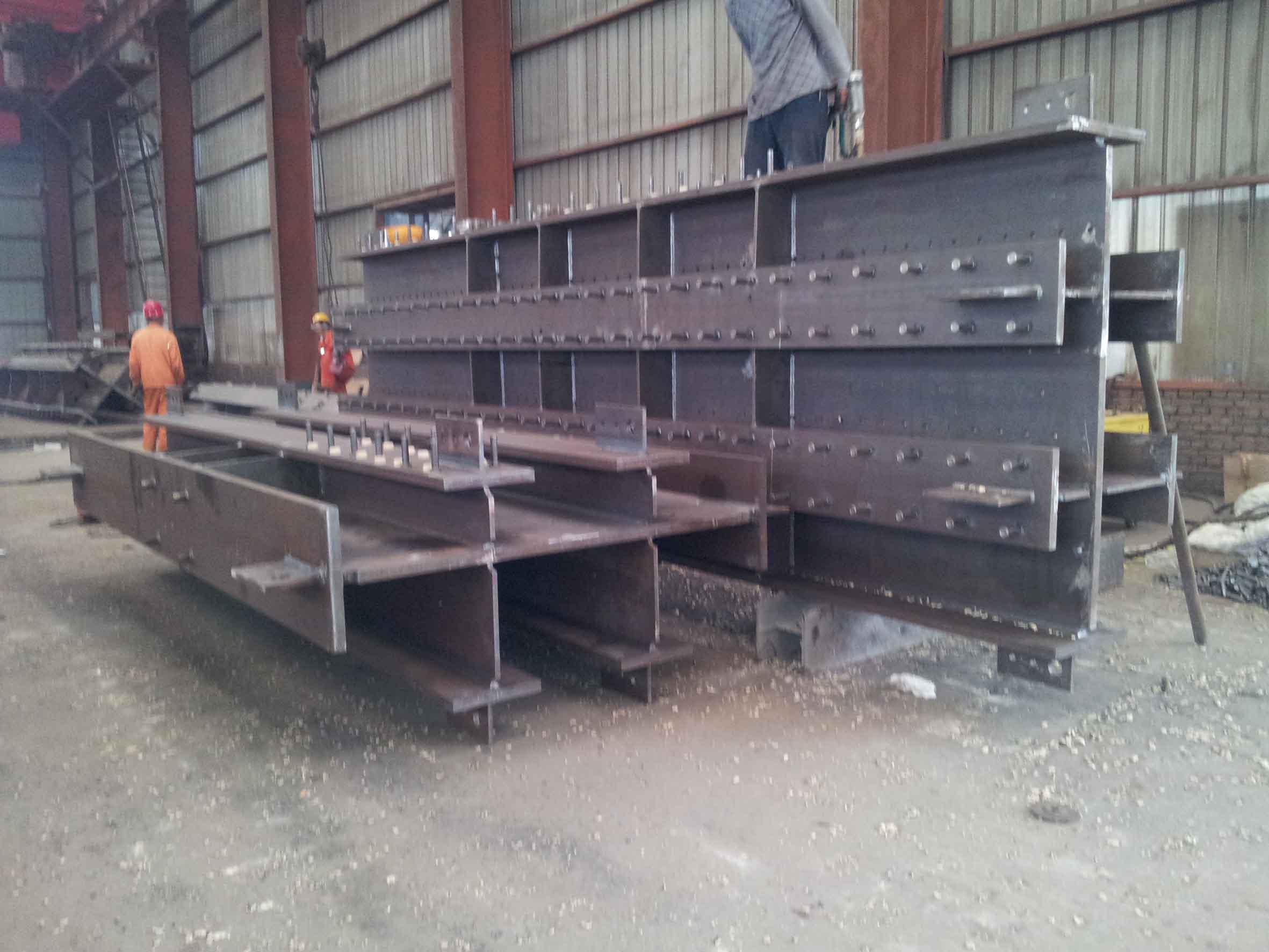 栓钉焊接4|唐山朝阳钢结构工程有限公司