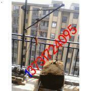 单柱电动吊运机 手提式小吊机 楼房上料机 室内小型吊机