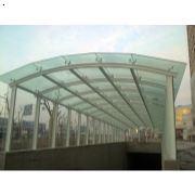 济南玻璃雨棚