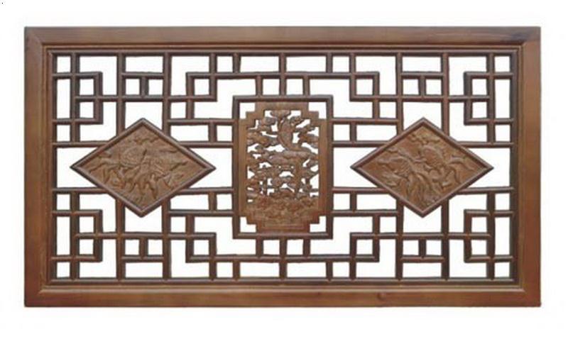 长沙博古架,长沙木雕屏风,长沙仿古花格的展示案例制作,秀木可雕装饰