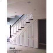 定制楼梯下柜 样式新颖设计独特 风格多样