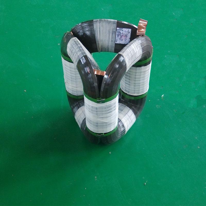 三角形立体卷铁芯是电力变压器铁芯结构上的一次重大突破和飞跃,它的