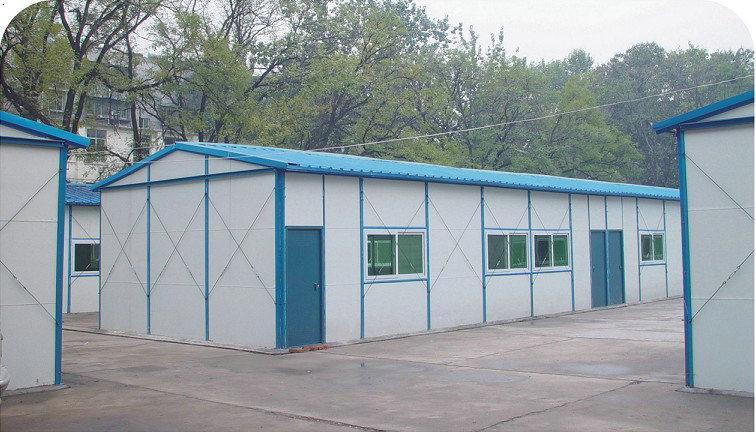 彩钢瓦房顶框架两面坡顶设计图