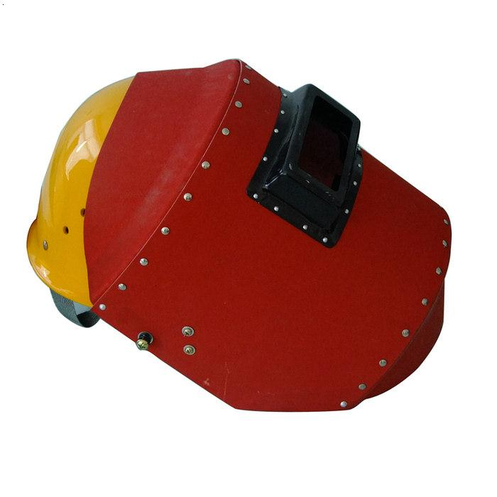 盾牌|玻璃?#32844;?#20840;帽加电焊面罩|施工安全帽