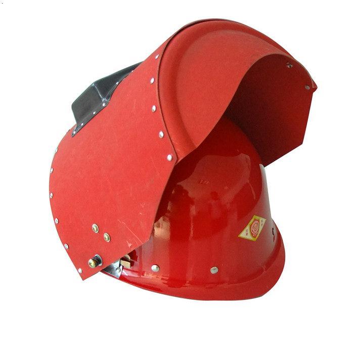 玻璃钢安全帽帽壳颜色: 红,黄,兰,白等 玻璃钢安全帽加电焊面罩采.图片