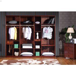 七门衣柜内部结构|四川实木家具|香柏坊
