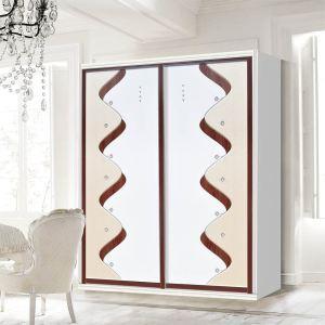jy-001雕刻镶嵌板材配60仿钢半包腹边框板材系列 株洲衣柜门