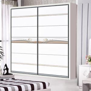 株洲衣柜门 jy-014雕刻镶嵌工艺板材配20仿钢插片边框板材系列衣柜门
