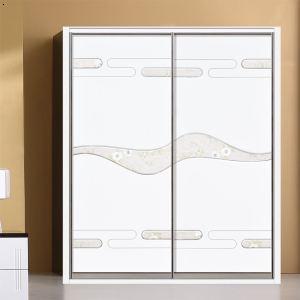 jy-015雕刻镶嵌板材配20仿钢插镜边框板材系列衣柜门