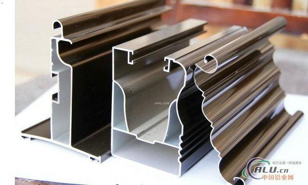 铝合金门材样品