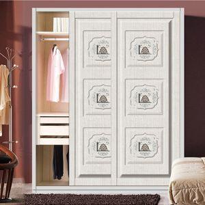 特价上海精雕衣柜门欧式推拉门吸塑板移门软包皮革门专业订做