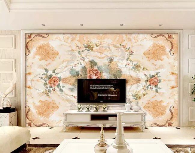 装饰材料欧式建筑风景瓷砖大理石电视背景墙线条