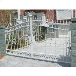 锌钢大门|长沙安安组织对抗金属
