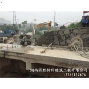 长沙圭塘河桥梁切割拆除