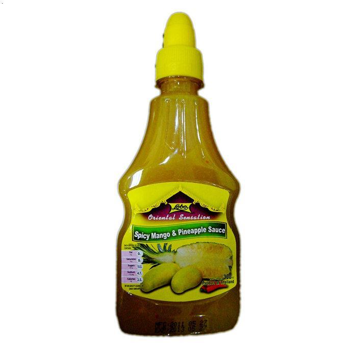 LOBO辣味芒果菠萝酱30