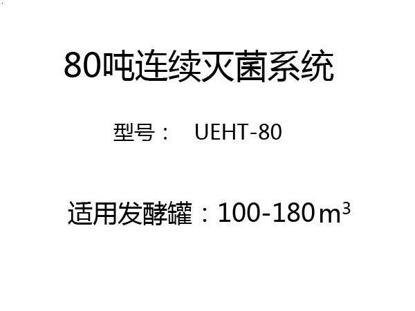 80吨连续灭菌系统