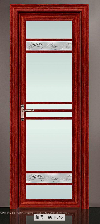阳台红色门套效果图