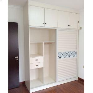 产品首页 家居用品 卧室家具 衣柜 好莱城,苏香桐上吊柜下移门衣柜