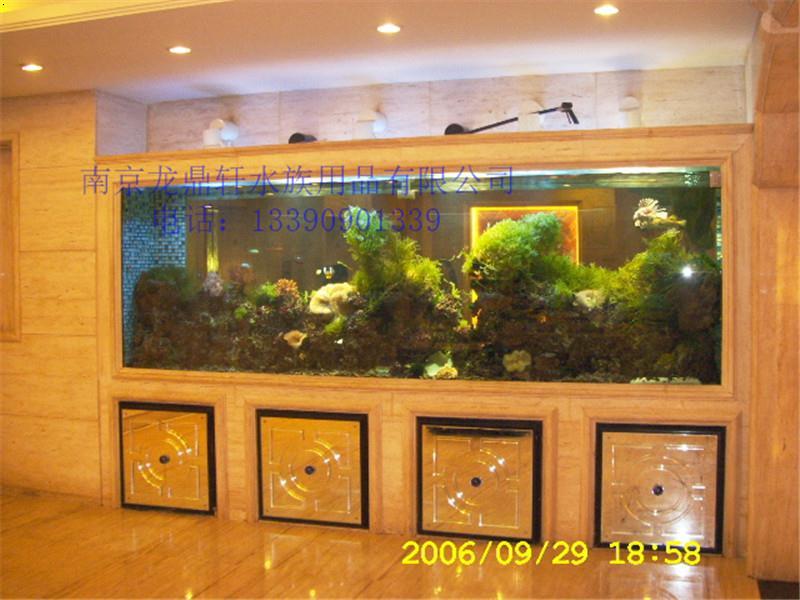 南京嵌入式鱼缸定做