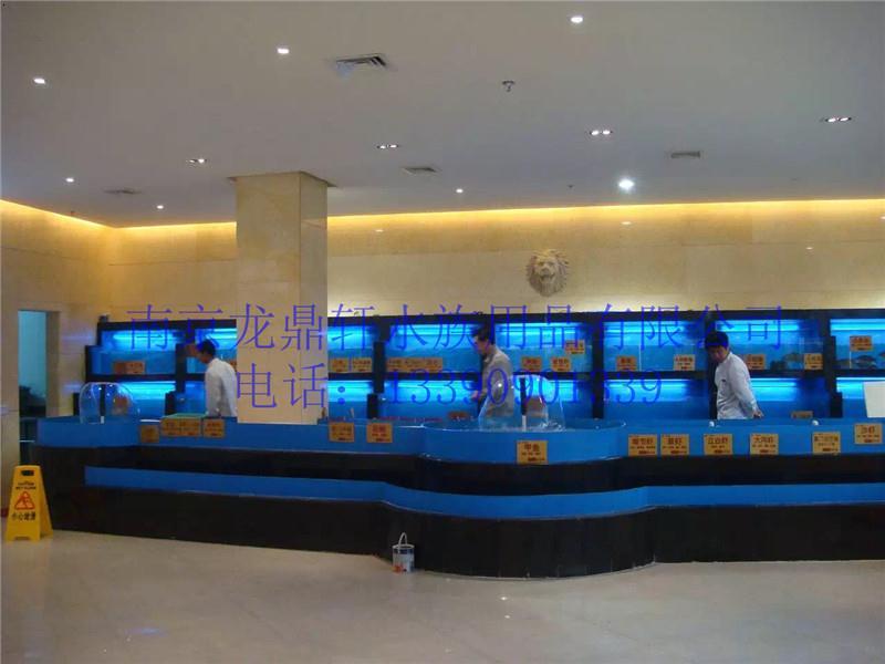 南京浦口酒店海鲜池