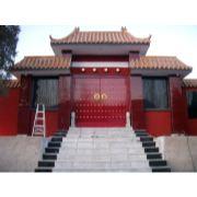 唐山寺庙大红门