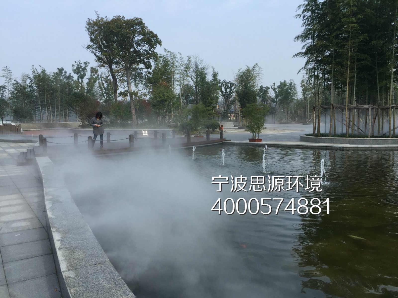 模拟雨雾天|雾森|人工