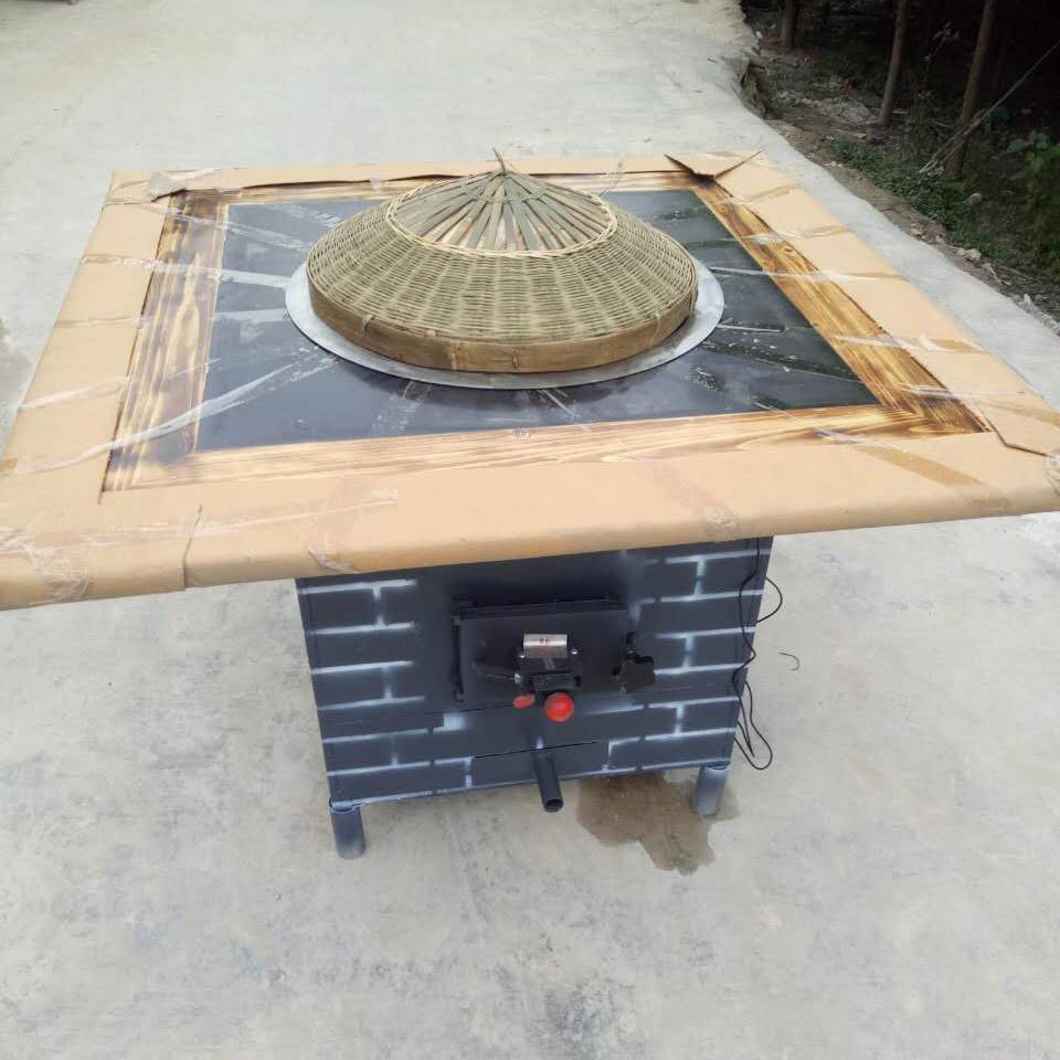 小吃灶台的装修效果图