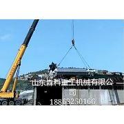 在安装中的维坊煤焦集团洗煤厂600平方浮精压滤机