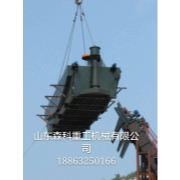 正在安装中的维坊煤焦集团洗煤厂的新型浮选机