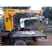 制作随车吊小吊机便携式吊运机电机小型吊机起吊机单臂吊