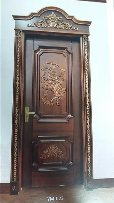产品名称:悠美家木业原木雕刻贵族门欧式雕刻门ym-023