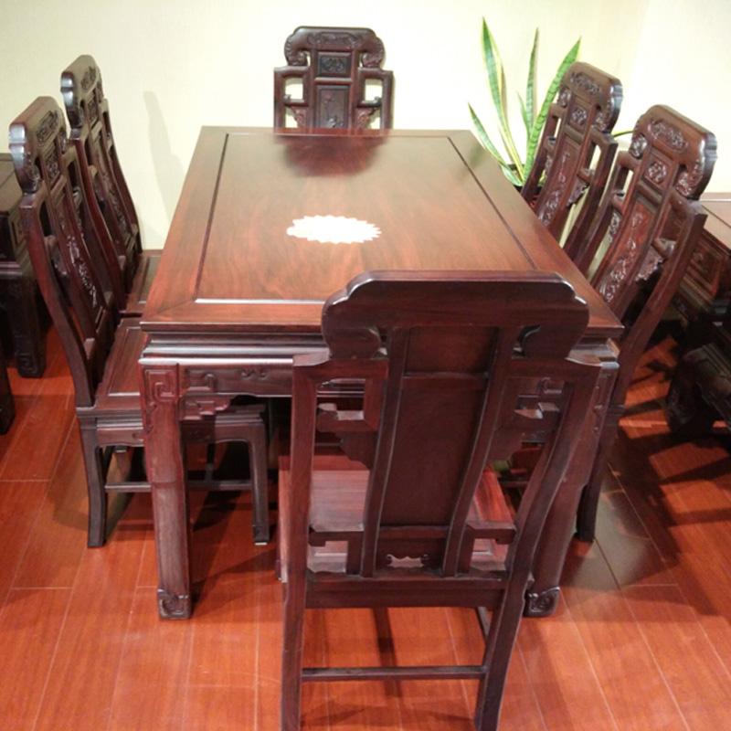 财源长方形餐桌