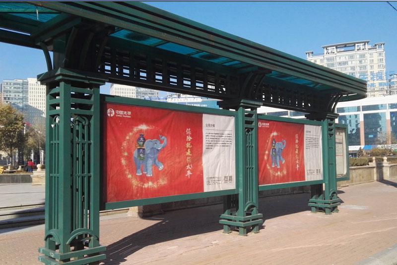 黑龙江哈尔滨公交长廊