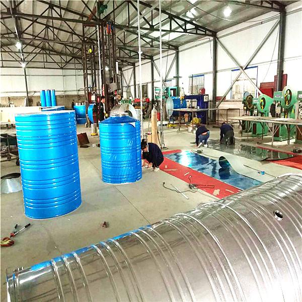 产品展示 圆柱形保温水箱 圆柱形保温水箱  15383154228 唐山热带雨
